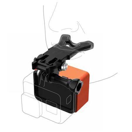 Kit Suporte para Boca Bite Mount + Floaty Original GoPro para GoPro HERO5, HERO6 e HERO7 - ASLBM-001