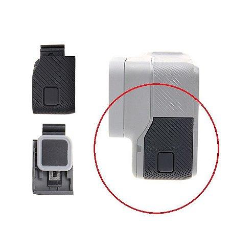 Tampa Lateral USB SIMILAR Para Reposição das Câmeras Gopro HERO5 Black, HERO6 Black e HERO7 Silver.