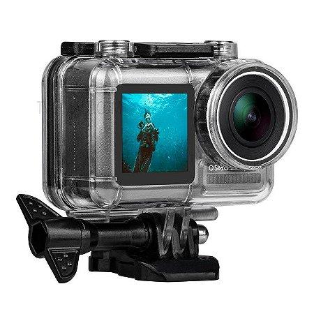 Caixa Estanque 40m Para Câmeras DJi Osmo Action Cam