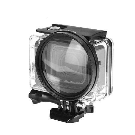 Lente Macro 58mm Shoot XTGP384 com ampliação 10x Para GoPro HERO5, HERO6 e HERO7 Black