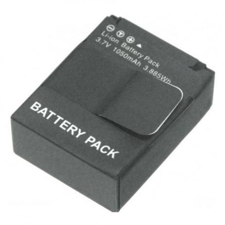 Bateria Similar 1050mAh Para Gopro HERO3 e HERO3+ - AHDBT-201/AHDBT-301
