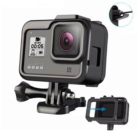 Moldura, Armação ou Frame em ABS para Câmeras GoPro HERO8 Black