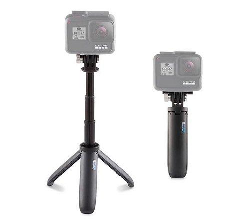 Mini bastão e tripé extensível ORIGINAL GoPro Shorty - Código AFTTM-001