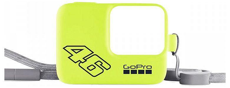 Capa de Proteção em Silicone Original GoPro Sleeve VR46 para GoPro HERO2018, HERO5 Black, HERO6 Black e HERO7 Black - ACSST-006