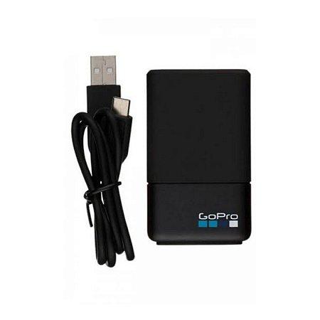 Carregador duplo USB ORIGINAL GoPro para baterias AHDBT-501
