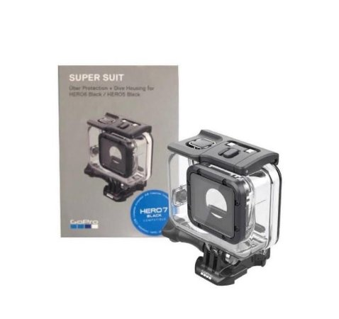 Caixa Estanque ou Protetora Super Suit 60m Original GoPro - H5 a H7 Black e HERO(2018)