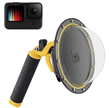 Dome Telesin 6 Polegadas Para Câmeras Gopro HERO9 Black