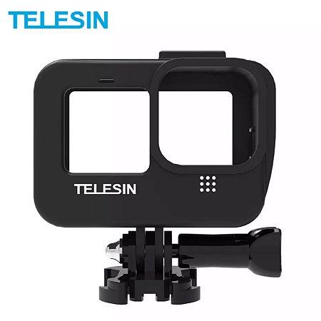 Moldura ou Frame multimídia TELESIN para GoPro HERO9 Black e GoPro HERO10 Black