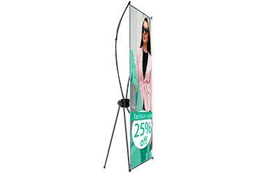 X Banner Kit Completo Bandeira E Suporte X 1 UNIDADE