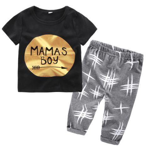 Conjunto mamas Boy