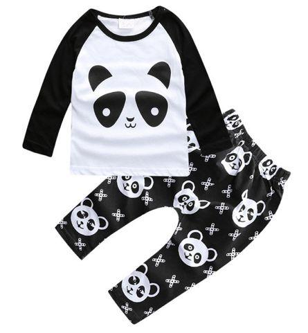 Conjunto de Bebê - Panda