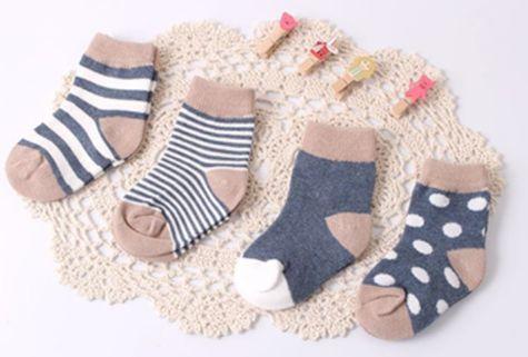 Kit com 4 meias curtas