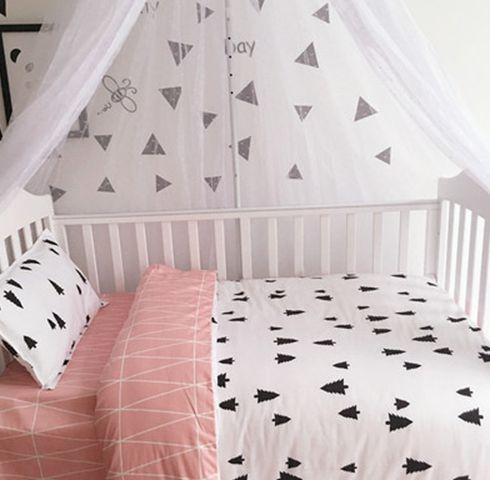 Kit de cama com 3 peças - Geometric Pink