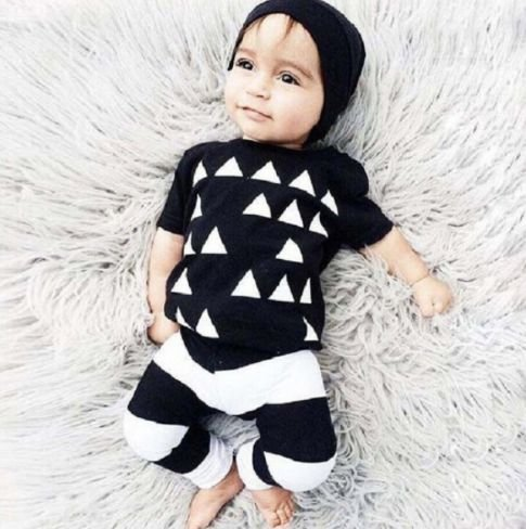 Conjunto de bebê - Geométrico