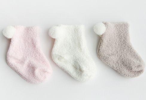 Kit com 3 meias sweet girl