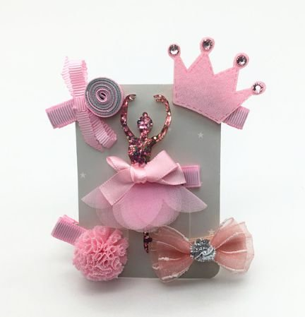 Kit de laços - ballet pink