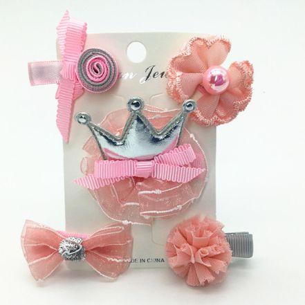 Kit laços princess pink