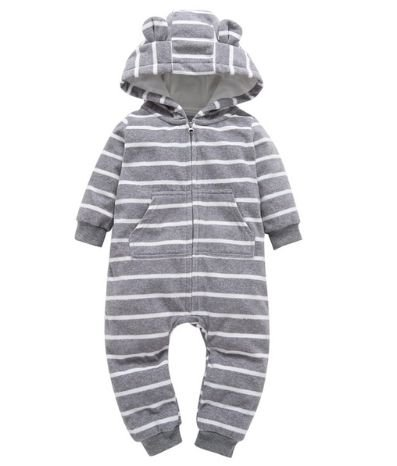Macacão de bebê - Listradinho