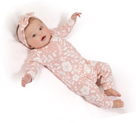 Macacão de bebê - Alice com faixa