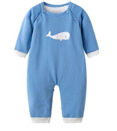 Macacão Bê baleia (Inverno)
