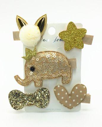 Kit de laços - Gold bunnie