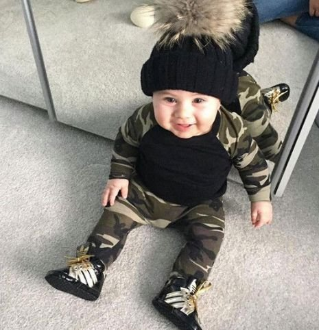 Conjunto de Bebê - Army Boy