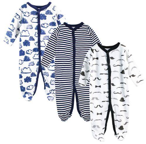 Kit de macacão para bebê - CLOUDS