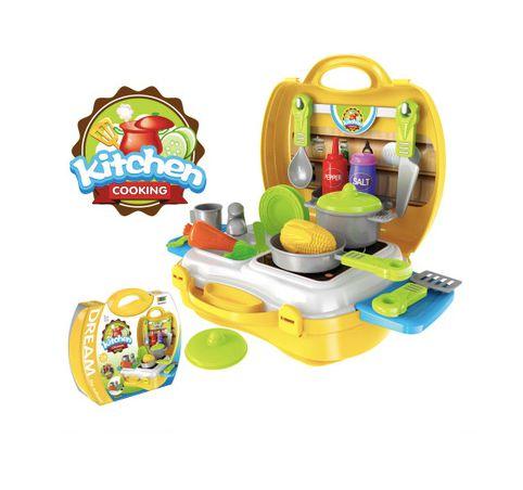 Maleta de brinquedos - Chef de Cozinha