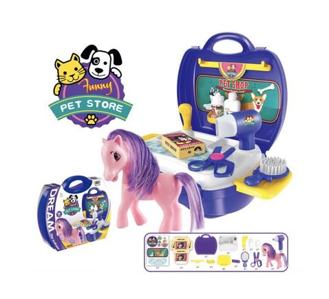 Maleta Poney Shop