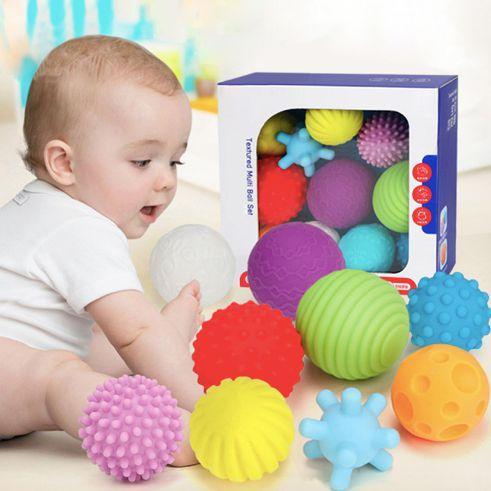 Kit com 11 bolas sensoriais