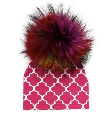 Gorro com pompom removível - Colors
