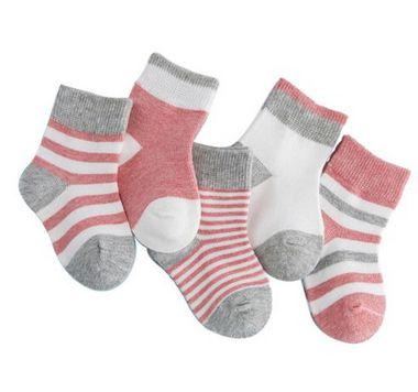 Kit com 5 meias - Listras