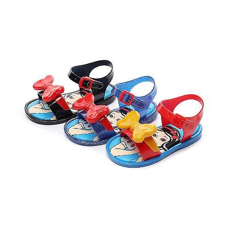 Mini sandália Branca de neve