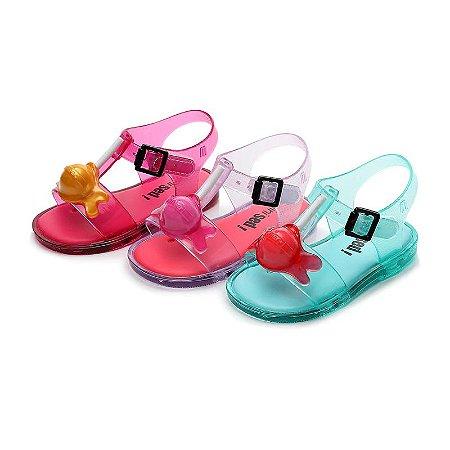 Mini sandália Pirulito