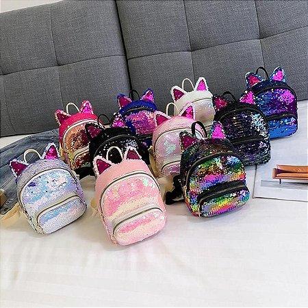 Mini mochila Gatinha