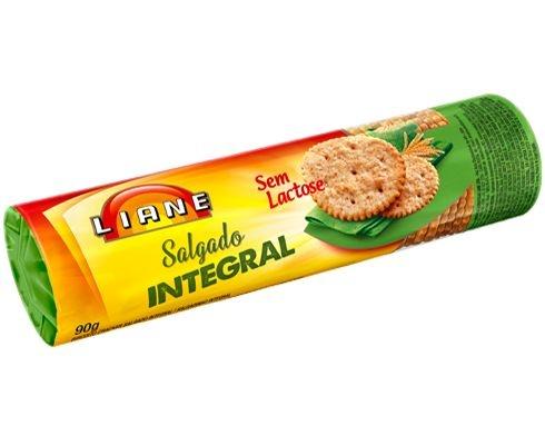Biscoitos Cracker Integral Liane