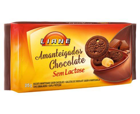 Biscoito Amanteigado Chocolate Liane