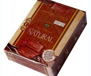 Chocolate Puro NATURAL cx 16 Ouro Moreno