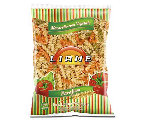 Macarrão tipo Parafuso Vegetais Liane 500 g