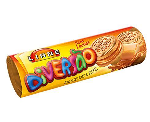 Biscoito Recheado Doce de Leite Liane
