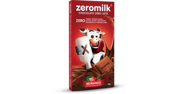 Zeromilk Morango 80gr