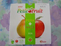 Petit Fruit maçã e pera (4 un)