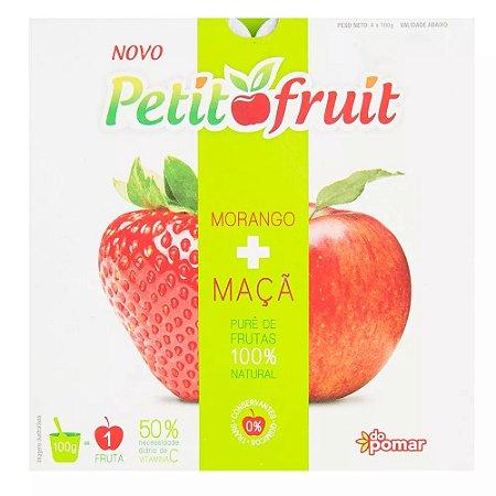 Petit Fruit maçã e morango (4un)