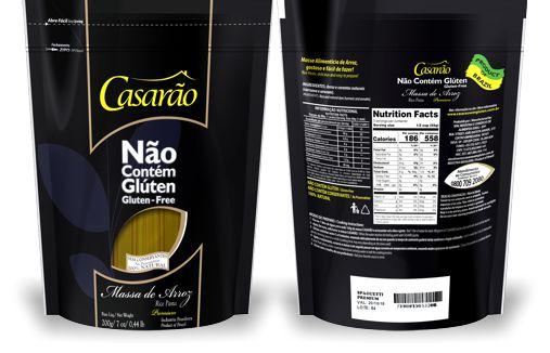 Spaghetti premium Casarão 200gr