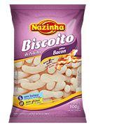 Biscoito de Polvilho Bacon Nazinha 100g