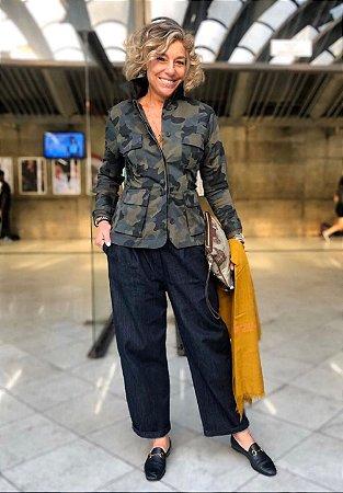 Jaqueta camuflada (Atenção, camuflado novo, a estampa é igual a da calça)