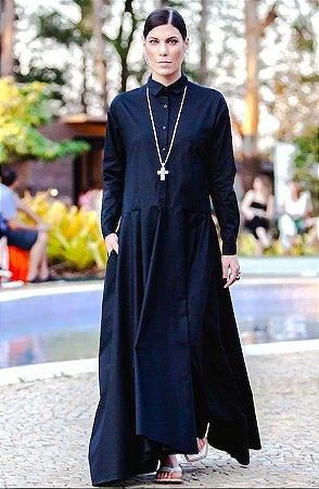 Vestido chemisier Godê