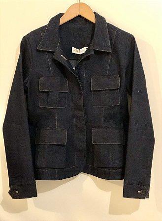 Jaqueta jeans quatro bolsos