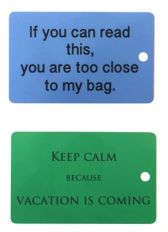 Combo 2 Tags     Keep Calm + Too Close