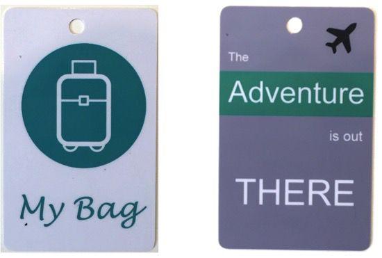 Combo 2 Tags     My Bag + Adventure